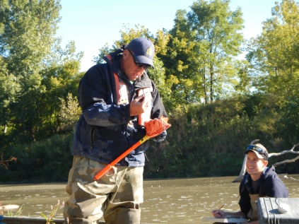 Jason Barnucz, Fisheries Research, Thames River,