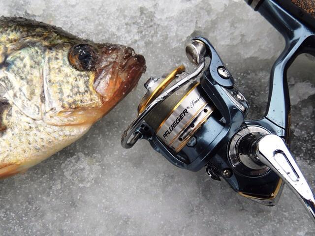 Fenwick Rods, Pflueger Reels, Berkley Trilene, Vexilar FL20, Ice Fishing, Norfolk County, Clam Coporation, Mr Buddy Heater, K-drill, Berkley Gulp, Berkley Powerbait