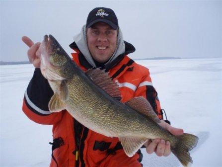 Walleye, Bay of Quinte, Desoronto, Ice Fishing, Vexilar, Vibrato, Sebile Lures