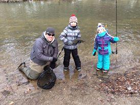 Steelhead, Lake Erie, Norfolk County, Winter,