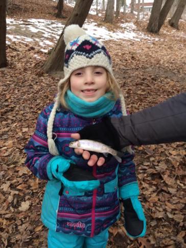 Steelhead, Lake Erie, Norfolk County, Winter, Kids, Family