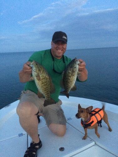 Lake Erie, Smallmouth Bass, Jerkbaits, Normandale, Baer Fishing Adventures, Abu Garcia, Revo, Fenwick Rods, World Class, Skinny Cutter, Fusion 19 hooks