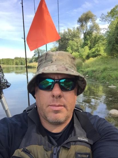 Kayak Fishing, Grand River, Perception Sport Pescador 12, Black Pack, Abu Garcia, Fenwick, Berkley, Waterloo, Ontario, Costa Sunglasses