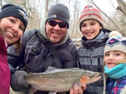 Steelhead, Lake Erie, Norfolk County, Winter, Kids, Family