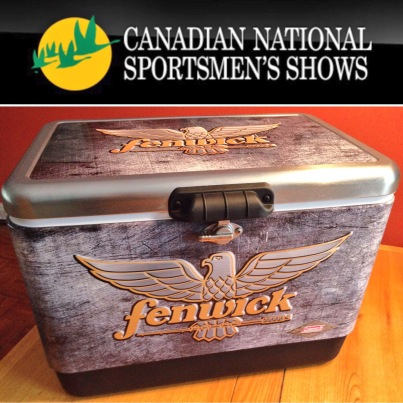 fenwick, fenwick fishing, fenwick rods, coolers, promotion